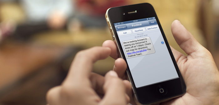 SMS on iPhone