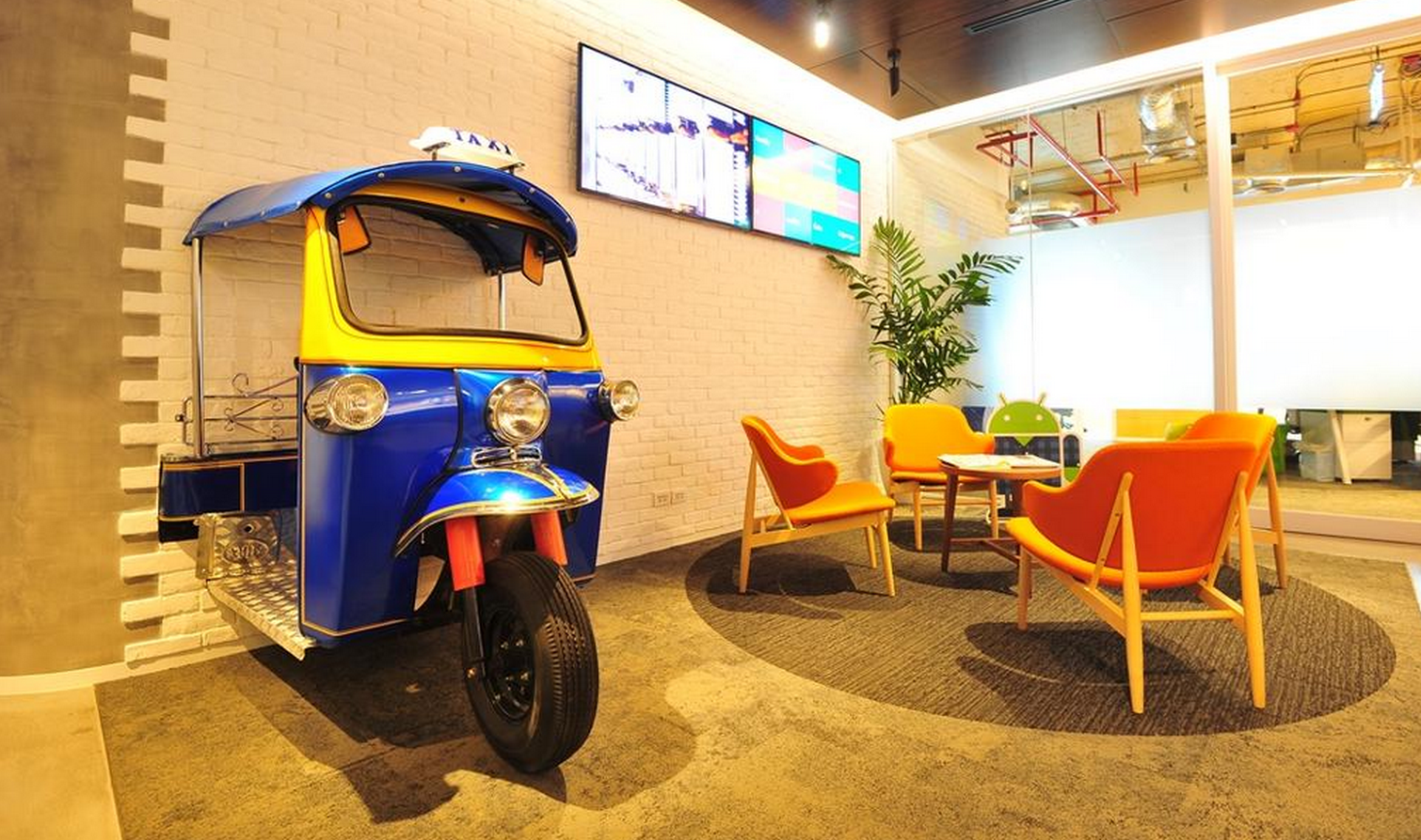 Check Out The New Bangkok Office Of Google Thailand