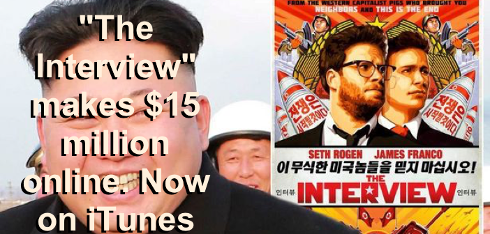 The Interview - Makes Millions Main Pic