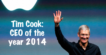 Tim Cook - CEO of the Year 2014