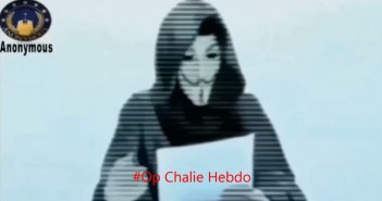 Anonymous declares war on terrorists