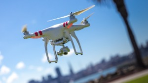 Drones fitted with cameras