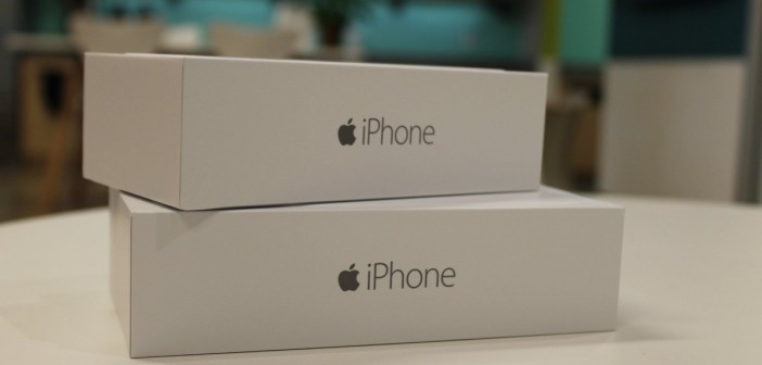 iPhone 6 boxes