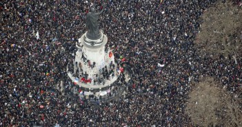 Rally in Paris, France