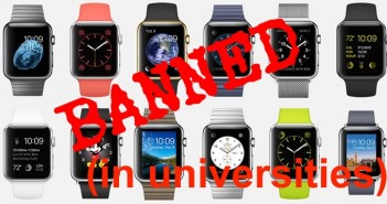 Smart Watches Banned Universities