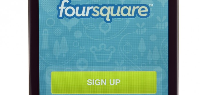 foursquare on iphone