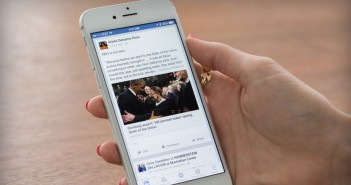 Facebook on iPhone
