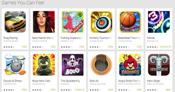 Google Play - Games You Can Feel