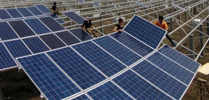 Apple invests in China solar project.
