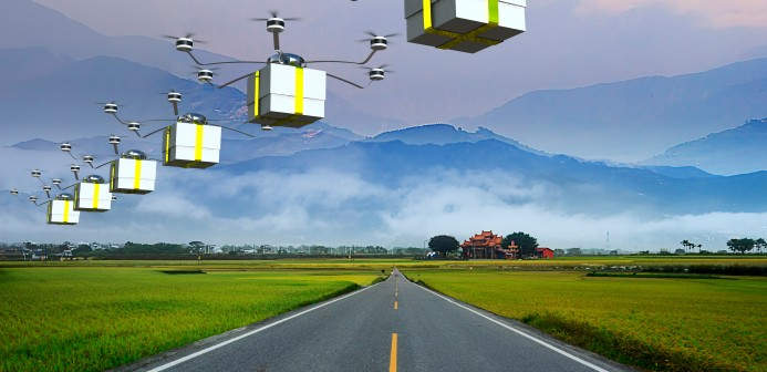 drone postal delivery