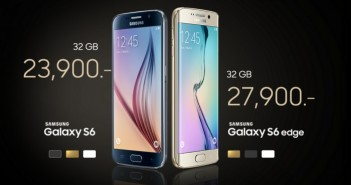 Galaxy S6 and S6 Edge price in Thailand