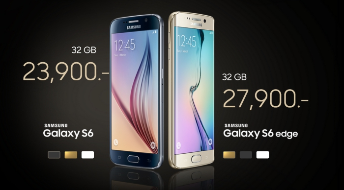 samsung confirms price of galaxy s6 and s6 edge in thailand. Black Bedroom Furniture Sets. Home Design Ideas