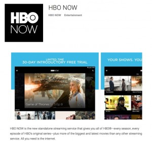 HBO Now Android App