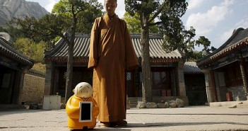 Robot monk in China