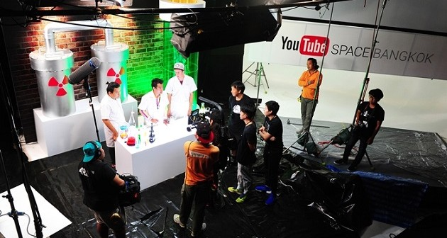 YouTube Pop Up Space Bangkok