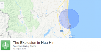 Facebook Safety Check Hua Hin