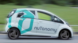 Self driving taxi