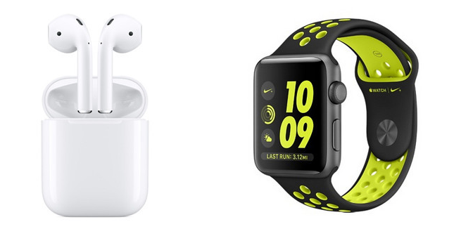 Thailand pricing of Apple Watch 2 and AirPods announced