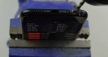 iPhone 7 drill headphone jack