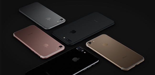 iPhone 7 colours