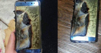 iPhone 7 exploded