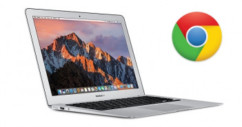 Macbook air google chrome