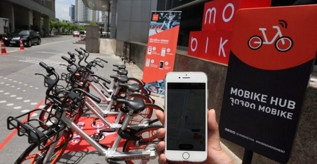 Mobike Smart Bike Network Launches In Thailand Thai