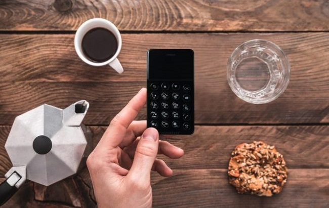 This new Android phone is the same size as a credit card