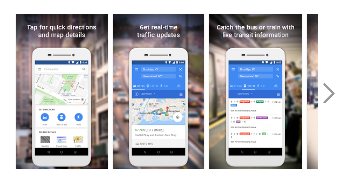 Google Maps Go Lands On Google Play