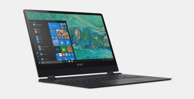 Acer Announces The World's Thinnest Laptop