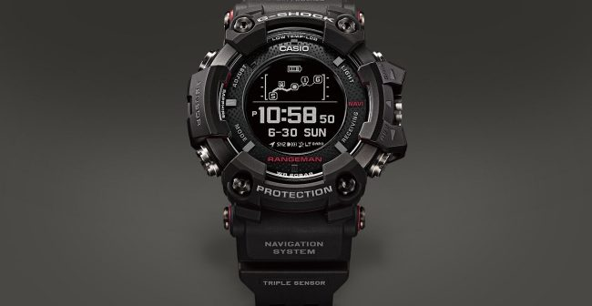 casio unveils new g shock gps smartwatch that could save. Black Bedroom Furniture Sets. Home Design Ideas