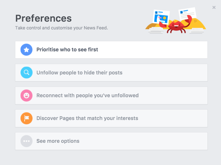 Here's how to see the posts you want in your News Feed