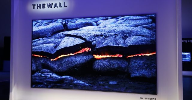 Samsung Unveils The Wall