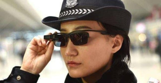 Chinese police spot suspects with surveillance sunglasses