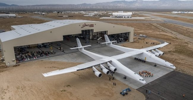 World's largest plane prepares to air-launch rockets