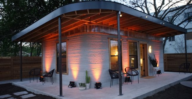 This 3D Printed Small Concrete House Costs Just $10000