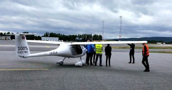 Norway electric plane